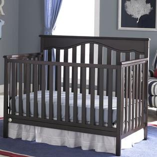 Fisher-Price Furniture Ayden 4-in-1 Convertible Crib (2 Pieces) - Finish: Espresso at Sears.com