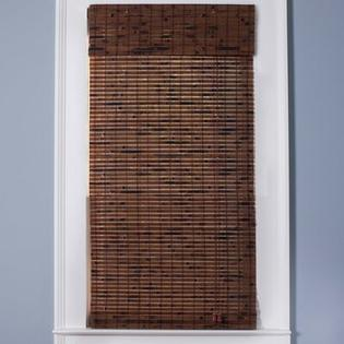 "Top Blinds Arlo Blinds Bamboo Roman Shade in Java Vintage - Size: 40"" W x 54"" H at Sears.com"