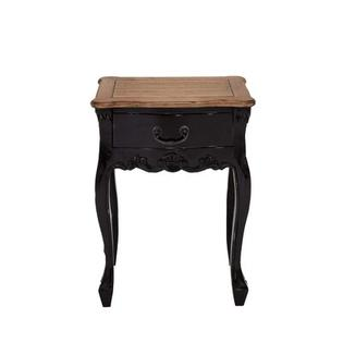Woodland Imports Dona End Table - Finish: Dark Grey / Brown at Sears.com