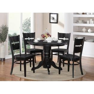 WOIM Shelton 5 Piece Dining Set - Finish: Black at Sears.com