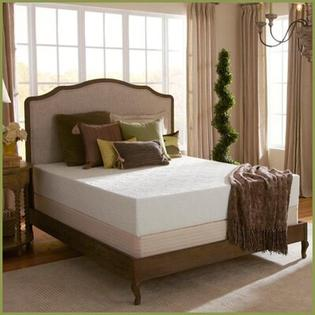 "Plush Beds Eco Bliss 10"" Latex Foam Medium Mattress - Size: Twin Extra Long at Sears.com"