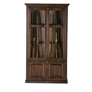 Eagle Furniture Manufacturing Savannah 15-Gun Cabinet - Finish: Chocolate Mousse at Sears.com