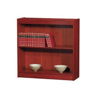 "NORSONS INDUSTRIES LLC Contemporary Series Wood Veneer Bookcase - Size: 30"" H x 36"" W x 12"" D, Finish: Medium Cherry at Sears.com"