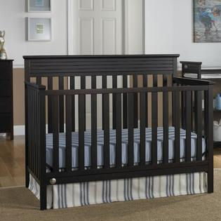Fisher-Price Furniture Newbury 4-in-1 Convertible Crib (3 Pieces) - Finish: Espresso at Sears.com