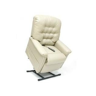 Pride Mobility Heritage Line Heavy Duty 3 Position Lift Chair with Button Back - Fabric: Crypton Smart Suede - Clover, Heat and Massage: None at Sears.com
