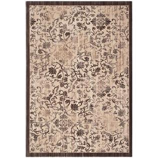 Safavieh Infinity Swirl Brown/Beige Area Rug - Rug Size: 4' x 6'