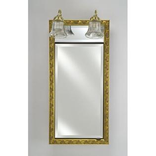 "Afina Signature 20"" x 30"" Recessed Medicine Cabinet - Finish: Chateau Antique Gold at Sears.com"