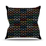 "Kess InHouse Throw Pillow - Size: 26"" H x 26"" W, Color: Sunglasses At Night at Sears.com"