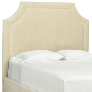 Tory Furniture Dreamtime Upholstered Headboard - Size: Full, Color: Merlot