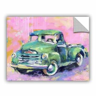 "Art Wall Vintage Chevy Truck by Svetlana Novikova Art Appeelz Removable Wall Art Graphic - Size: 18"" H x 24"" W x 0.1"" D at Sears.com"