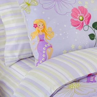 Veratex  Kid's Fairy Light Sheet Set - Size: Full