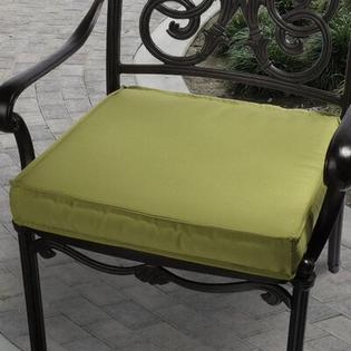 "Mozaic Company Sunbrella Outdoor Chair Cushion - Color: Lime Green, Size: 19"" at Sears.com"