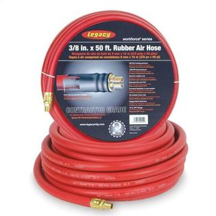 Legacy Mfg Workforce Series 3/8 in. ID x 50 ft. Rubber Air Hose at Sears.com