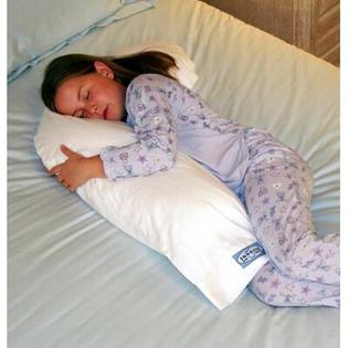 Snoozer Body Pillow Snoozer Hypoallergenic Junior Body Pillow with Pillowcase at Sears.com