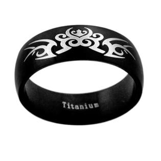 Trendbox Jewelry Band Ring with Painted Tribal Design - Size: 8.5 at Sears.com