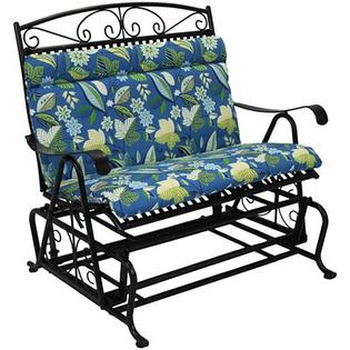 Blazing Needles Double Glider Cushion - Color: Skyworks Caribbean at Sears.com