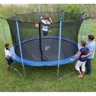 Pure Fun 14ft Outdoor Trampoline and Enclosure Set at Sears.com