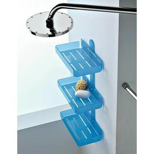 "Toscanaluce by Nameeks Wall Mounted Accessory Holder - Finish: Light Blue, Shelves: Two, Size: 12"" at Sears.com"