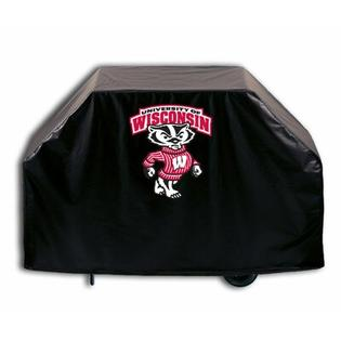 "Holland Bar Stool NCAA Grill Cover - Size: 36"" H x 55"" W x 21"" D, NCAA Team: Wisconsin - Bucky Badger at Sears.com"