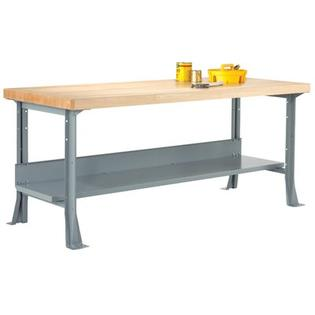 "Diversified Woodcrafts Workbench - Size: 48"" W x 24"" D x 32-1/4"" H, Surface: 2.25"" Maple at Sears.com"