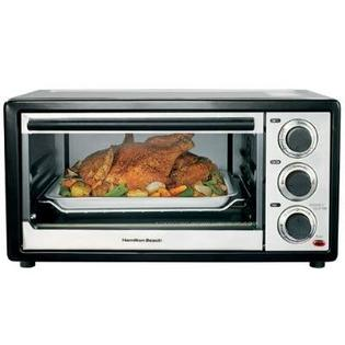 Hamilton Beach 6-Slice Convection Toaster Oven in Stainless Steel at Sears.com