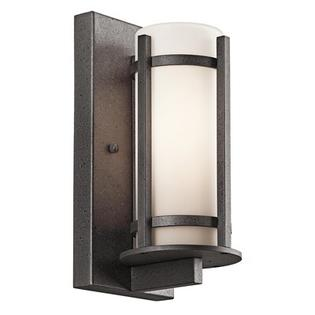 "Kichler Lighting Group Camden  Outdoor Wall Lantern in Anvil Iron - Size / Bulb Type: 26"" H x 9"" W x 11"" D / Incandescent at Sears.com"
