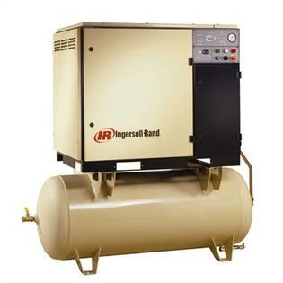 Ingersoll Rand 120 Gallon, 150 PSI, 112 CFM Rotary Screw Air Compressor - Voltage: 575