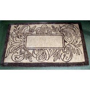 "Geo Crafts Coco Marseilles Doormat - Size: 24"" x 39"", Letter: O"