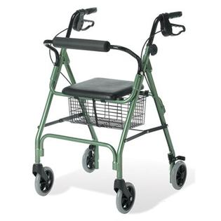 Guardian Envoy 460 Rolling Walker - Color: Green