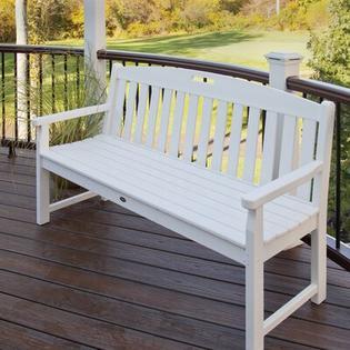 Trex Outdoor Yacht Club Polyethylene Garden Bench (Set of 5) - Size: 48