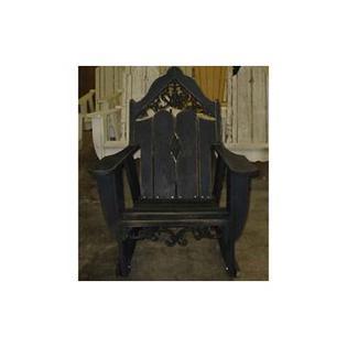 Uwharrie Veranda Rocking Chair - Finish: Caribbean Blue (Distressed)