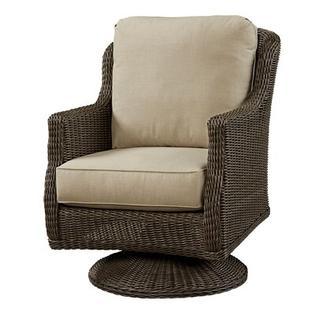 Wildon Home Swivel Rocker Chair with Cushion - Fabric: Flagship Salt