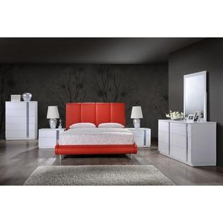 Global Furniture USA Sleigh Bed - Size: Queen, Color: Grey