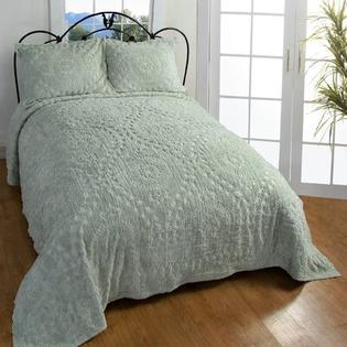 Better Trends Rio Bedspread - Size: Full, Color: Sage