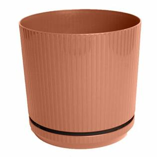 bloem Cetara Round Pot Planter (Set of 6) - Color: Terra Cotta Size: 10