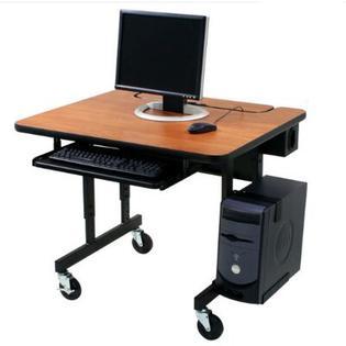 Paragon Furniture Classic Flip Top Workstation Computer Desk - Size: 72