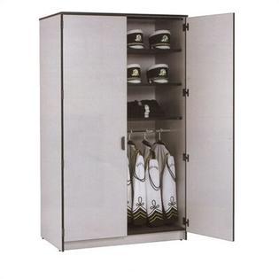 Fleetwood Harmony 15 Small Compartment Instrument Storage Cabinet - Body/Trim: Mahogany/Black, Depth: 30