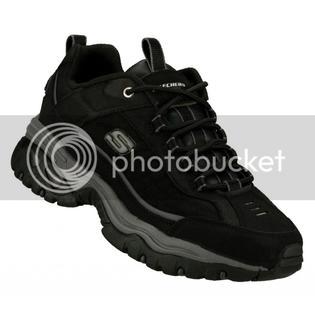 Skechers 50172 Ew Wide Width Black Skechers Shoes Big & Tall Men New Sport Casual Sneaker 50172EWBLK