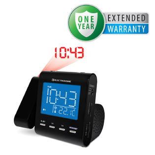 Electrohome EAAC600 AM/FM Projection Clock Radio with Dual Alarm & 1 Year Extended Warranty at Sears.com