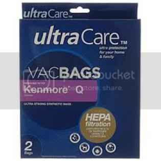 UltraCare Kenmore Style Q HEPA Vacuum Bags by UltraCare 2pk at Sears.com