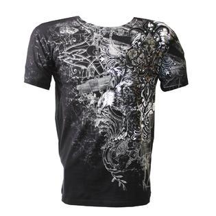 Konflic NWT Men's Flying Eagle Graphic Designer MMA Muscle T-shirt - Medium at Sears.com
