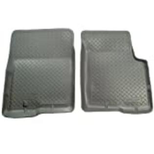Husky Liners Classic Style Custom Fit Molded Front Floor Liner for Select Ford F-150/F-250 Models (Grey) at Sears.com