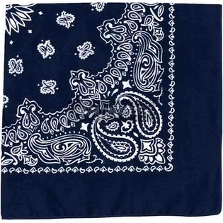 "Rothco Navy Blue Trainmen Paisley Jumbo Bandana 27"" x 27"" at Sears.com"