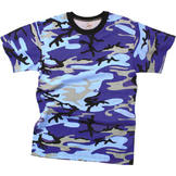 Rothco Electric Blue Camouflage Military T-Shirt at Sears.com