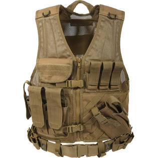 Rothco TACTICAL CROSS DRAW VEST - COYOTE at Sears.com