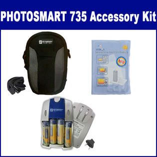 Synergy Digital HP PhotoSmart 735 Digital Camera Accessory Kit includes: ZELCKSG Care & Cleaning, SB257 Charger, SDC-22 Case By Synergy at Sears.com