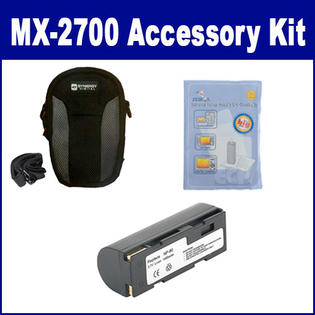 Synergy Digital Fujifilm MX-2700 Digital Camera Accessory Kit includes: ZELCKSG Care & Cleaning, SDNP80 Battery, SDC-22 Case By Synergy at Sears.com