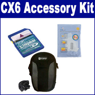 Synergy Digital Ricoh CX6 Digital Camera Accessory Kit includes: SDC-22 Case, ZELCKSG Care & Cleaning, KSD2GB Memory Card By Synergy at Sears.com