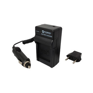Synergy Digital Sony DSC-T7 Digital Camera Battery Charger (110/220v with Car & EU adapters) - Replacement Charger for Sony NP-FE1 Batteries