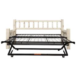 Montana Woodworks Homestead Collection Day Bed W Pop Up Trundle Ready To Finish